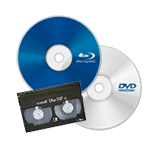 浮気や不倫の証拠など、特定部分のみをBlu-ray、DVD、ビデオテープでご提供致します。